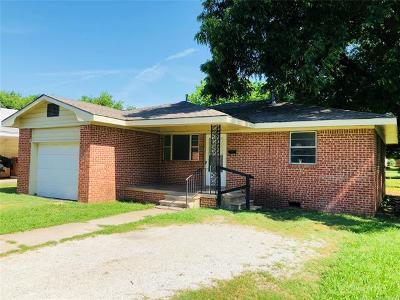 Ada Single Family Home For Sale: 508 W 2nd Street