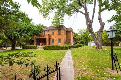 Ada Single Family Home For Sale: 1709 S Broadway Boulevard