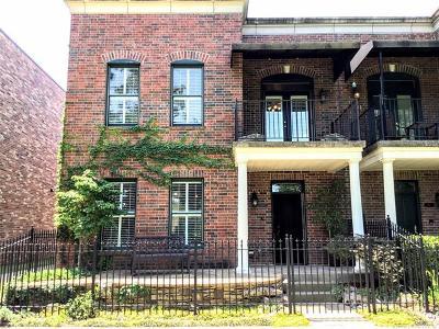 Tulsa Condo/Townhouse For Sale: 1121 E 7th Street #1121