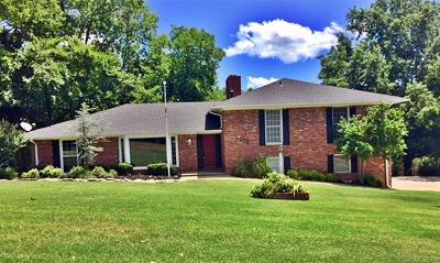 Muskogee Single Family Home For Sale: 1208 Crestwood Drive