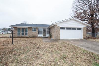 Broken Arrow Single Family Home For Sale: 12922 S 123rd East Avenue
