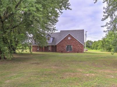 Okmulgee Single Family Home For Sale: 20650 Ferguson Road