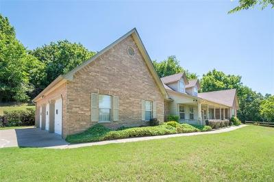 Claremore Single Family Home For Sale: 19653 Mountain Lane
