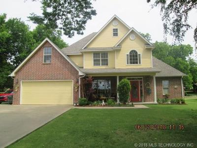Fort Gibson Single Family Home For Sale: 1402 Cemetery Road