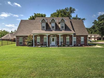 Coweta Single Family Home For Sale: 26172 E 111th Court S