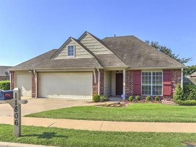 Jenks Single Family Home For Sale: 11806 S Holley Street