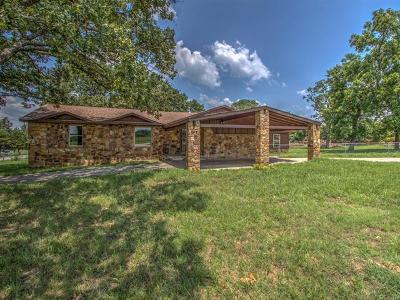 Sapulpa Single Family Home For Sale: 16067 S Main Street