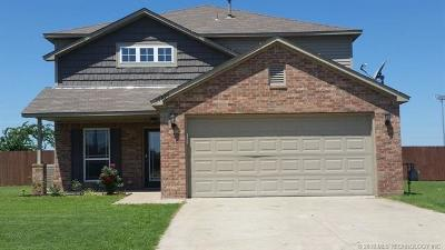 Glenpool Single Family Home For Sale: 14996 Fern Court