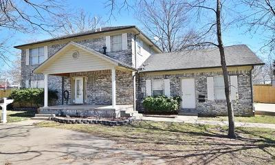 Tahlequah Single Family Home For Sale: 1250 N Cedar Avenue