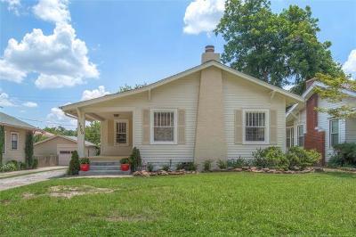 Tulsa Single Family Home For Sale: 1780 E 14th Place