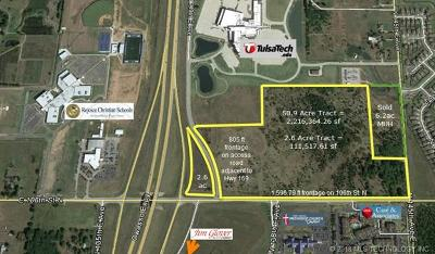 Owasso Residential Lots & Land For Sale: 106th Street North
