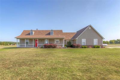 Claremore Single Family Home For Sale: 19885 E Brookview Drive