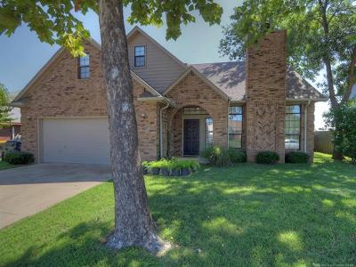 Glenpool Single Family Home For Sale: 13793 S Poplar Place