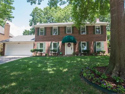 Tulsa Single Family Home For Sale: 8615 E 106th Street S