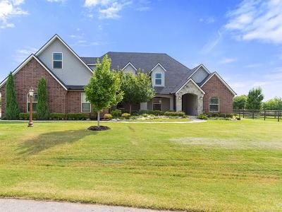 Owasso Single Family Home For Sale: 6458 N Twin Creeks Drive