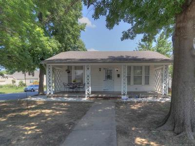 Sapulpa Single Family Home For Sale: 1201 E Fairview Avenue