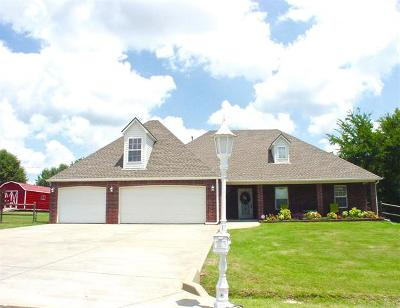 Coweta Single Family Home For Sale: 13825 S 262nd East Avenue