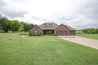 Claremore Single Family Home For Sale: 20992 S Laurel Street