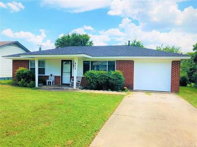Ada OK Single Family Home For Sale: $69,900