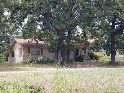 Ada OK Single Family Home For Sale: $139,000