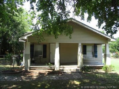 Sapulpa Single Family Home For Sale: 119 E Ross Avenue