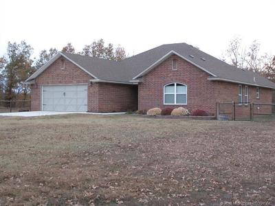 Park Hill Single Family Home For Sale: 27185 S 524 Road
