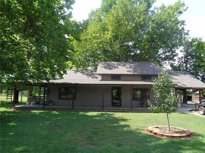 Talihina Single Family Home For Sale: 3273 SE Highway 63 Highway