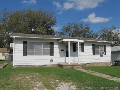 Ada OK Single Family Home For Sale: $54,000