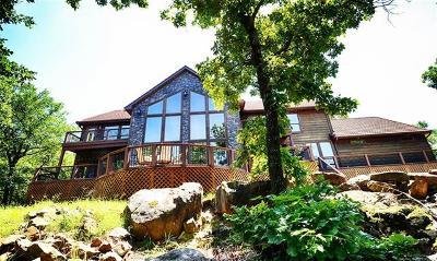 Stigler Single Family Home For Sale: 2097 Hidden Ridge Road