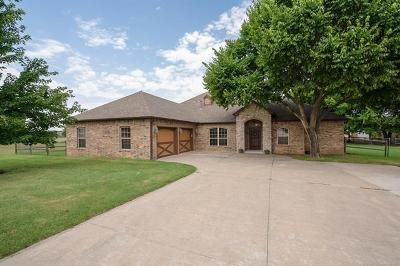 Owasso Single Family Home For Sale: 16603 E 78th Street North
