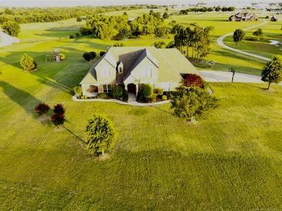 Broken Arrow Single Family Home For Sale: 26048 E 93rd Street S