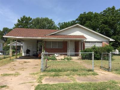 Ada OK Single Family Home For Sale: $63,500