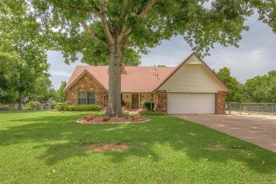 Jenks Single Family Home For Sale: 11708 S 2nd Street