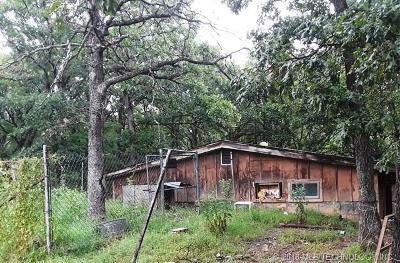Okmulgee Single Family Home For Sale: 9920 Celia Berryhill Road