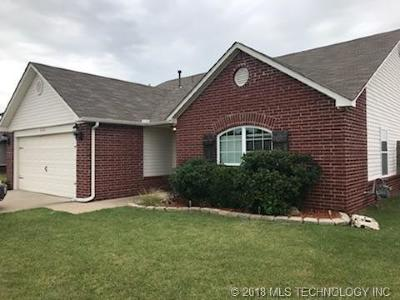 Glenpool Single Family Home For Sale: 538 E 147th Street S