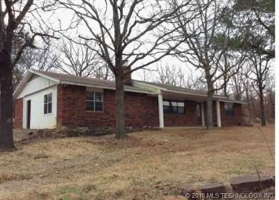 Wilburton OK Single Family Home For Sale: $28,325