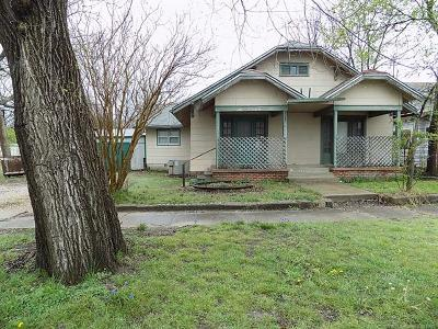 Holdenville OK Single Family Home For Sale: $29,900