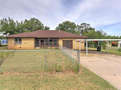 Sapulpa Single Family Home For Sale: 1314 N 9th Street
