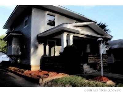 Okmulgee Single Family Home For Sale: 617 S Okmulgee Avenue
