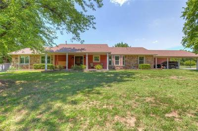 Claremore Single Family Home For Sale: 21606 S Wesson Avenue