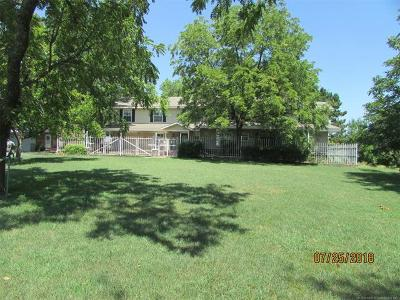 Osage County, Rogers County, Tulsa County, Wagoner County Single Family Home For Sale: 74245 S 320 Road