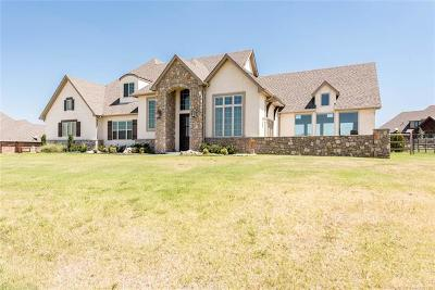 Owasso Single Family Home For Sale: 18619 E Red Fox Trail