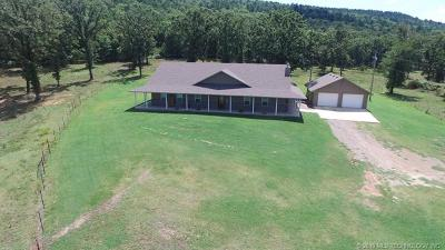 Heavener Single Family Home For Sale: 22400 445 Street