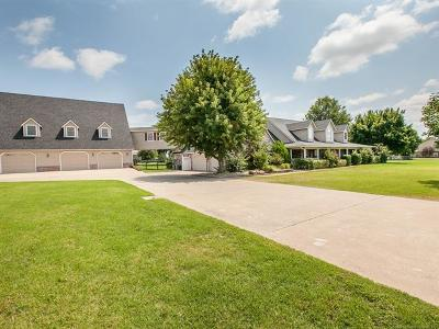 Owasso Single Family Home For Sale: 10861 N 155th East Avenue
