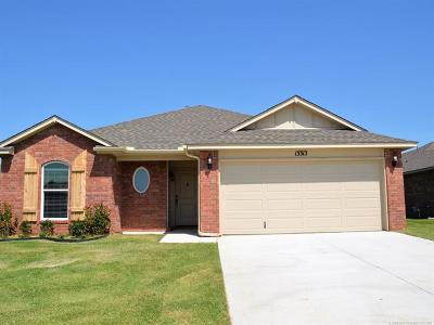 Collinsville Single Family Home For Sale: 13313 N 136th East Avenue