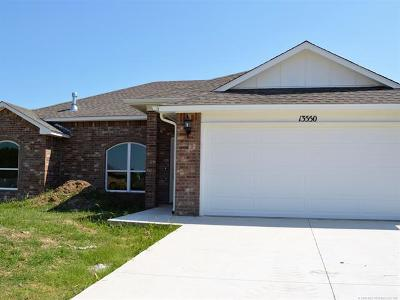 Collinsville Single Family Home For Sale: 13550 E 134th Street North