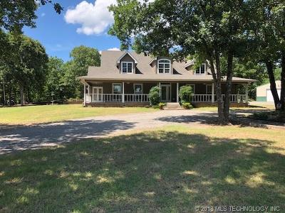 Fort Gibson OK Single Family Home For Sale: $325,900