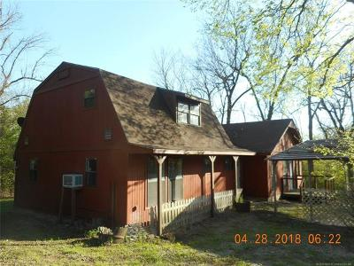 Claremore Single Family Home For Sale: 13800 E 500 Road