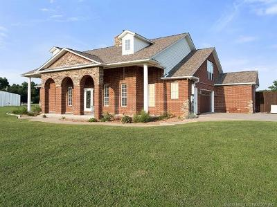 Sapulpa Single Family Home For Sale: 10285 Sahoma Lake Road