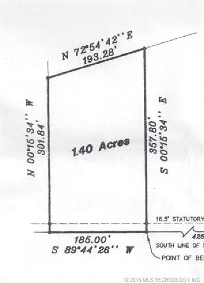 Claremore Residential Lots & Land For Sale: 6403 E 490 Road
